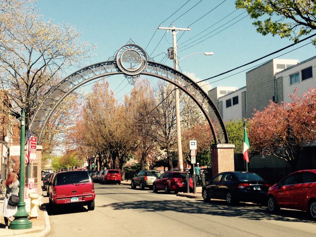Wooster Street Archway