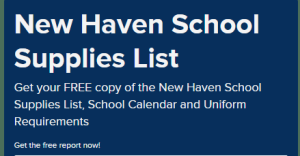 The first day of school dates in New Haven: