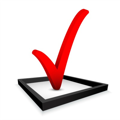 check mark to check off list of fha approved condos
